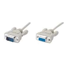 15Ft DB-9 Male to Female RS-232 Serial Extension Cable 6Ft 10Ft 50Ft. 25Ft