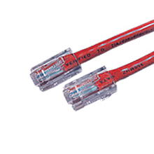 6FT Red Cat5E 350MHz RJ45 Network Patch Cable