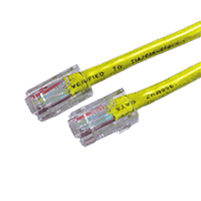 6FT Yellow Cat5E 350MHz RJ45 Network Patch Cable