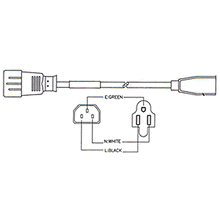 Iec C14 Wiring likewise 100   Electrical Wire Size likewise Wiring Diagram For 1999 Ski Doo Mxz 600 additionally 11296 furthermore Iec C13 To C14 Splitter Cables. on iec c14 wiring