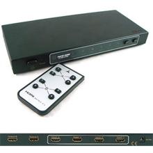 HDMI Matrix 4X2 True Matrix HDMI 1.3a Powered Switch w/ Remote Controller
