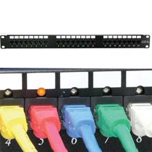 48 Port Cat.5E 110 Patch Panel RackMount w/LED Indicator
