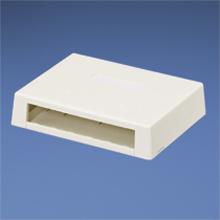 Mini-Com Surface Mount Box (International Gray 6 port)