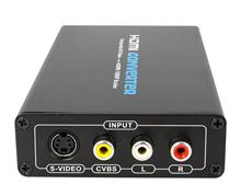 Composite and S-Video to HDMI Converter