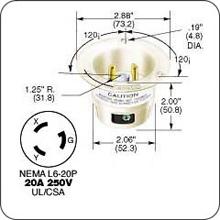 Enjoyable Nema L6 20R Wiring Diagram Basic Electronics Wiring Diagram Wiring Digital Resources Honesemecshebarightsorg