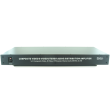 1×8 S-Video Composite /Audio/Digital Distribution Amplifier