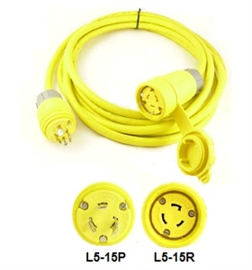 Watertight Power Cords