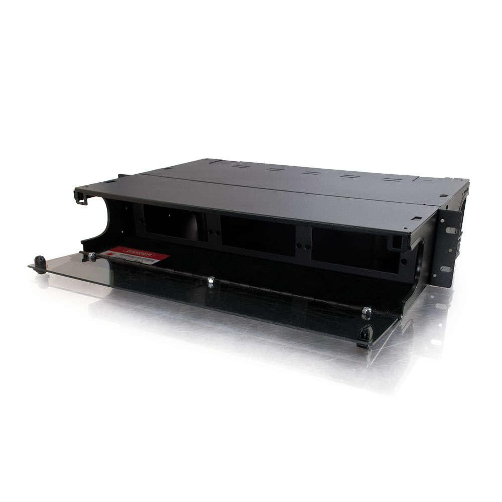 Q-Series™ 2u 6-Panel Rackmount Fiber Optic Enclosure