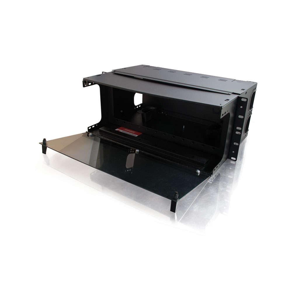 Q-Series™ 4u 12-Panel Rackmount Fiber Optic Enclosure