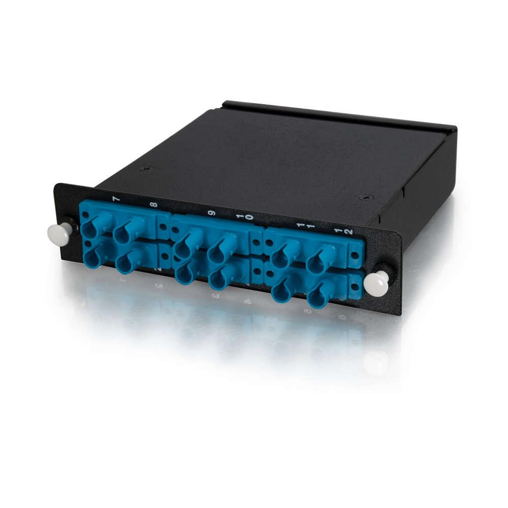 Q-Series™ 12-Strand MTP-ST LOMM 50/125 Module