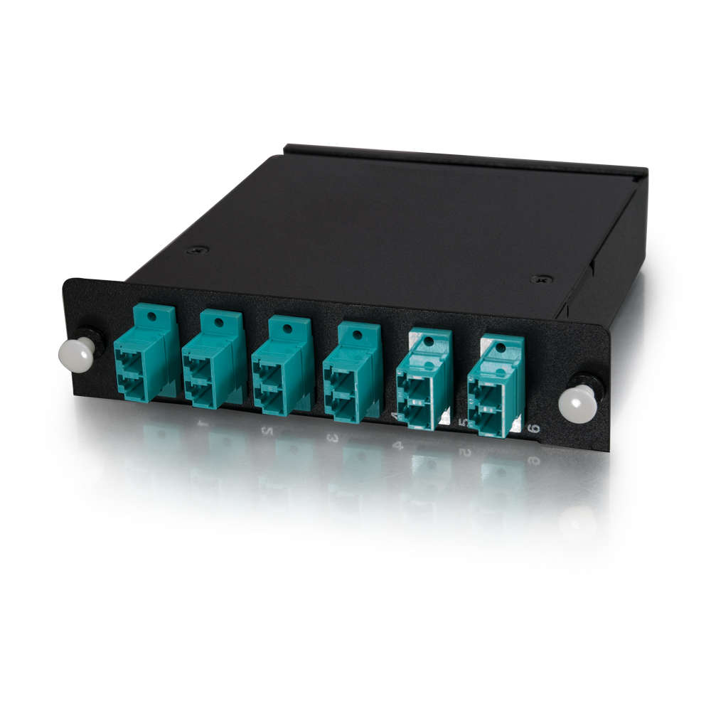 Q-Series™ 12-Strand MTP-LC LOMM 50/125 Module