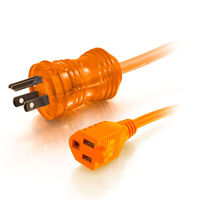 5-15P to 5-15R Hospital Extension Cords