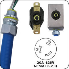 Nema 20 Amp Locking Whips