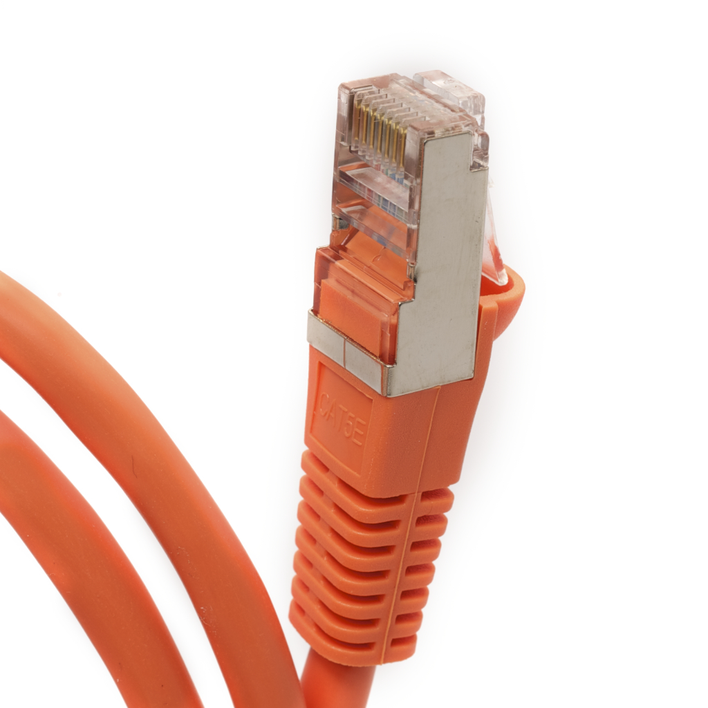 Category 5e Shielded Ethernet Cables-Orange