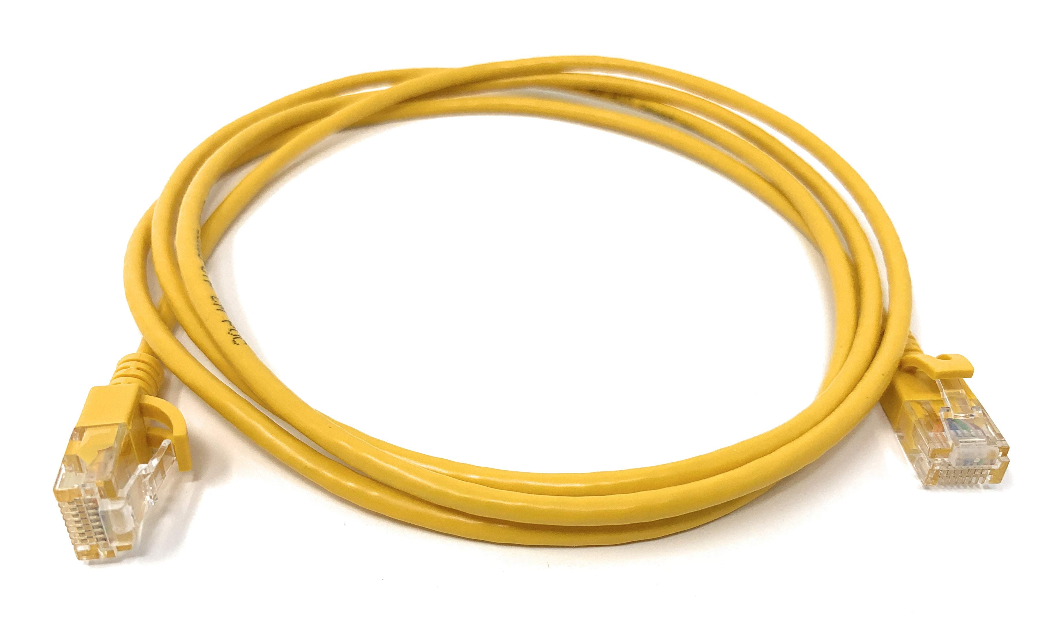 Category 6a 28awg Patch Cables with Slim Jacket