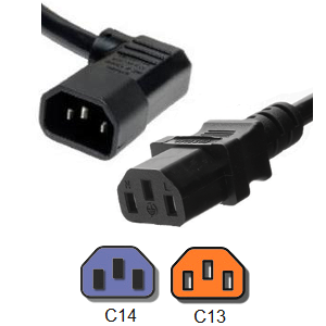 Angled Power Cords