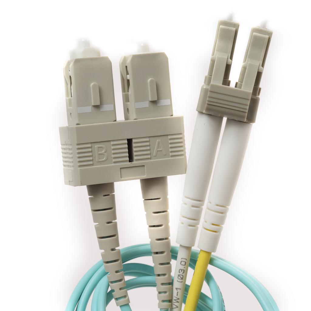 Fiber optic patch cables cables 10 gig om3 aqua fiber sciox Images
