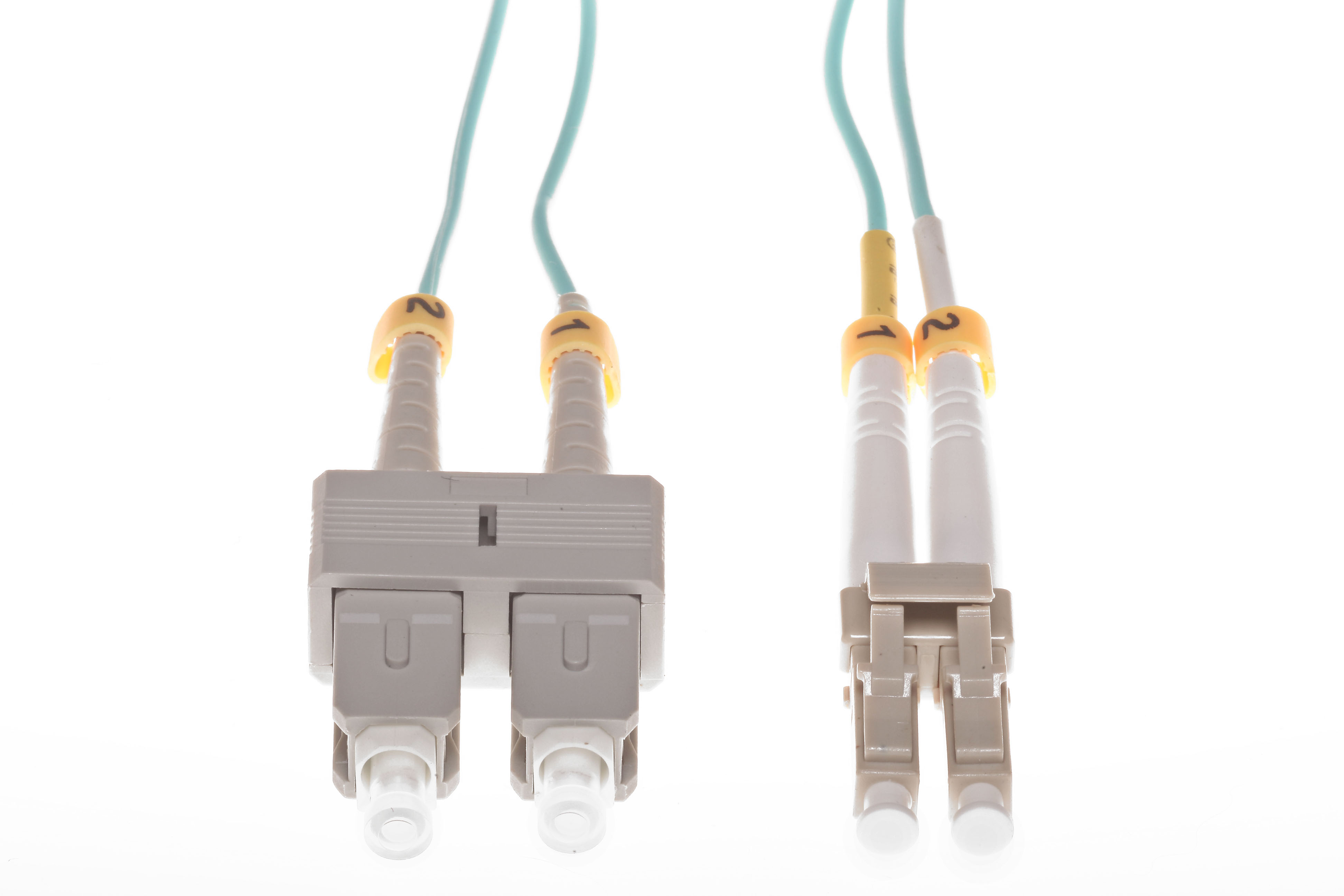 LC to SC 40GB OM4 Duplex Multimode Fiber Cables