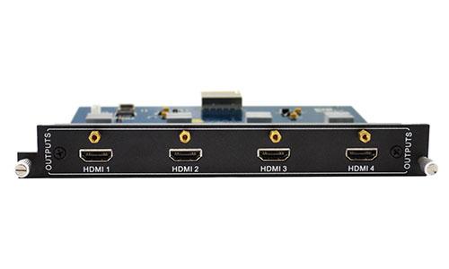 4-Output HDMI card for Modular matrix