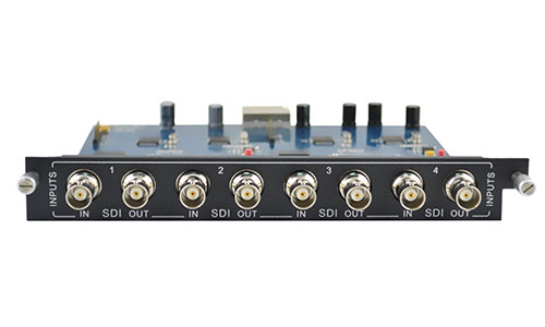 4-Output SDI card for Modular matrix