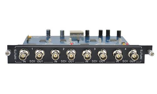 4-Input SDI card for Modular matrix