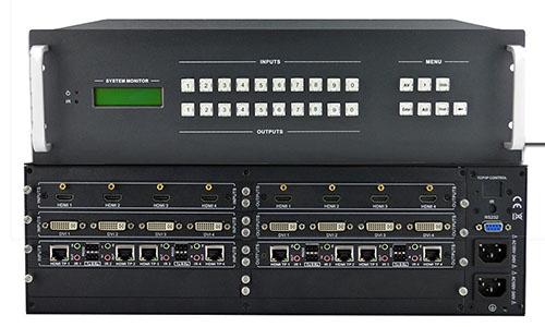Professional 16X16 Modular Matrix Switcher