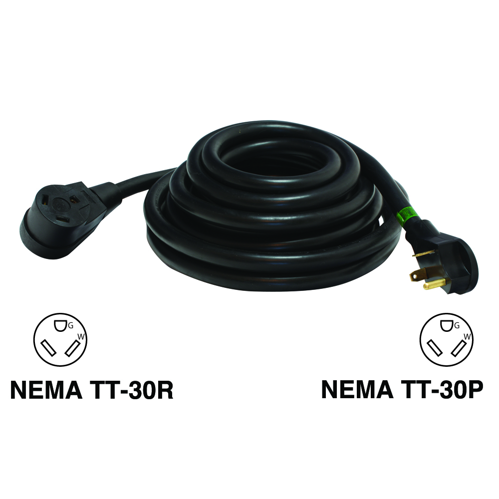 Recreational Vehicle Power Cords