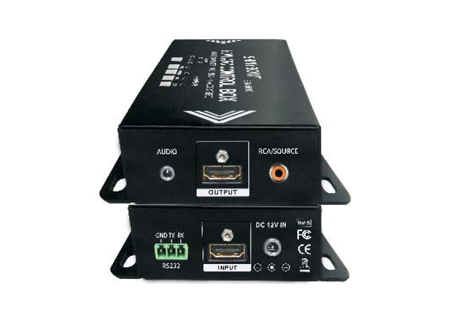 ShinyBow HDMI Audio Extractor/ARC/SPDIF/Analog Stereo Control Box