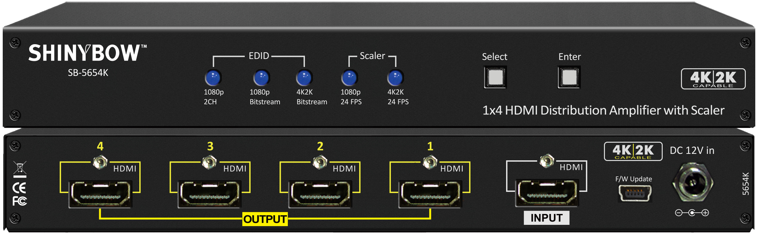 HDMI Distribution Amplifiers