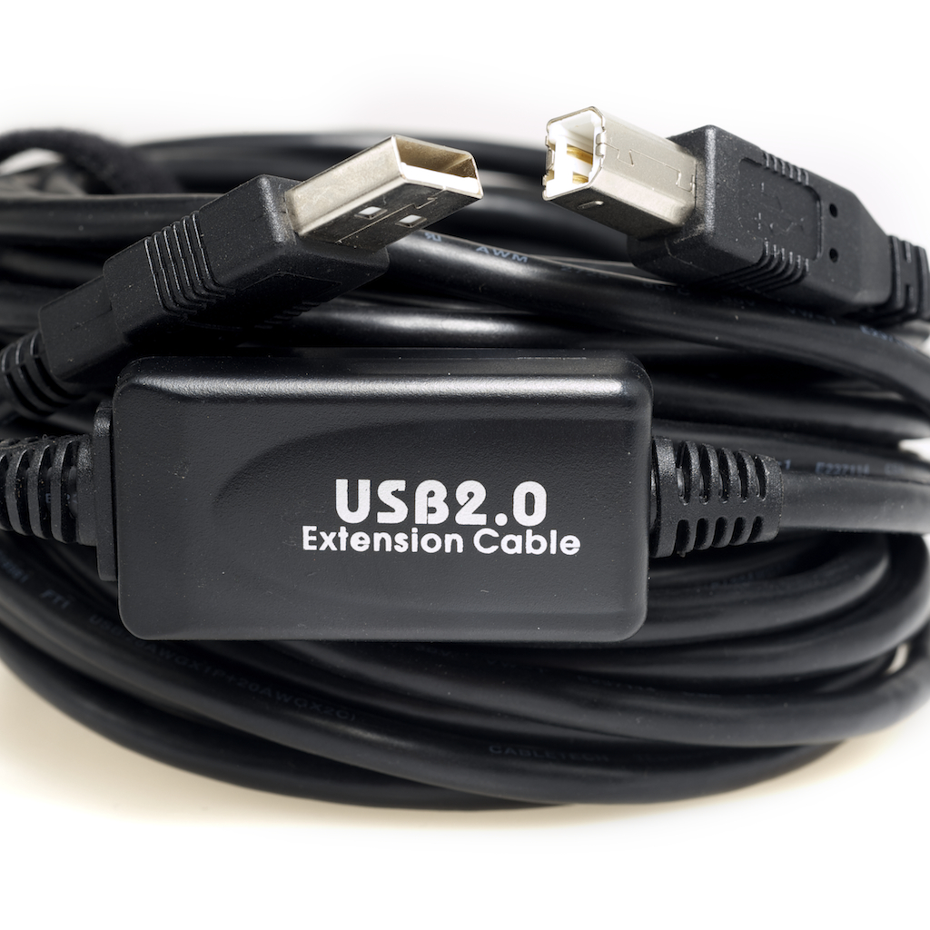 USB 2.0 A Male - B Male Connector Cables