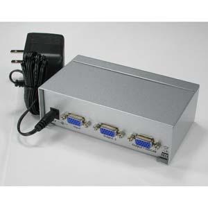 2Way SVGA VGA Splitter Amplifier Multiplier 400 MHz
