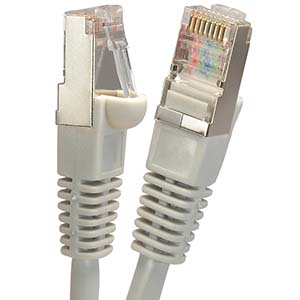 Category 5e Shielded Ethernet Cables-Gray