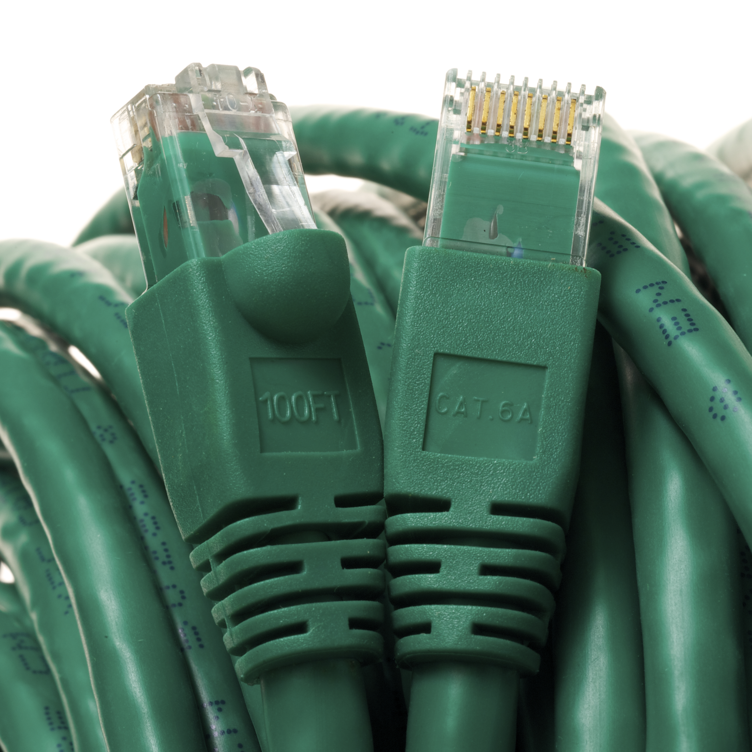 Category 6A Green Network Cables