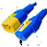 V-Lock C14 to C13 Power Cord 6 Foot 6 Pack 10A 250V for APC 8000 Series PDUs