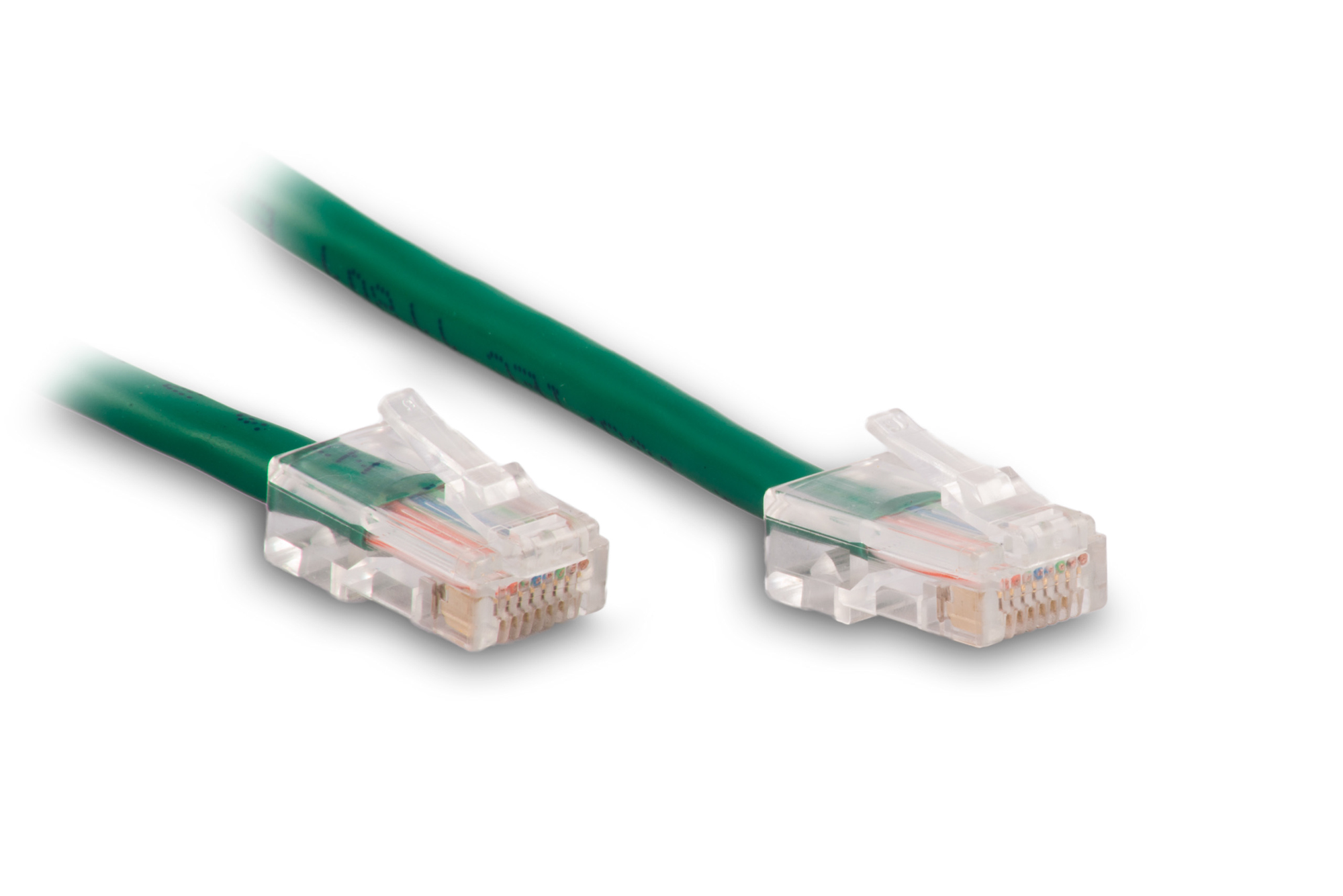 0.5FT Green Cat5e 350MHz RJ45 Network Patch Cable